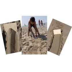 Zandkammen set van 5