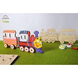 Locomotief, Ugears kids 80013