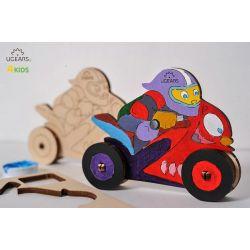 Motorrijder, Ugears kids 80007