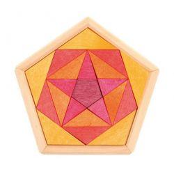 Puzzel pentagon, Grimms 43321