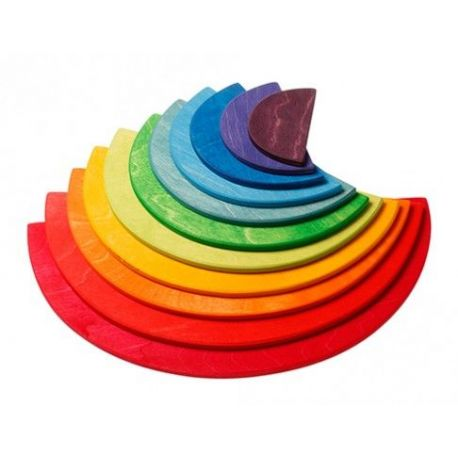 Grote halve regenboog cirkels, Grimms 10675