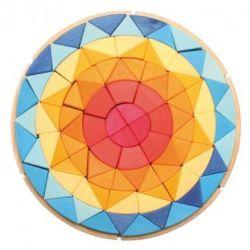 Grote houten puzzel zon, Grimms 43067