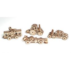 Bouwsetje voertuigen-trinkets , Ugears 70025