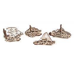 Bouwsetje vaartuigen-trinkets , Ugears 70023