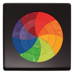 Magneetpuzzel Goethe kleurencirkel, Grimms 91080
