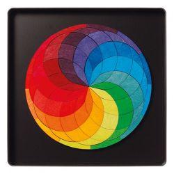 Magneetpuzzel kleurenspiraal, Grimms 91020