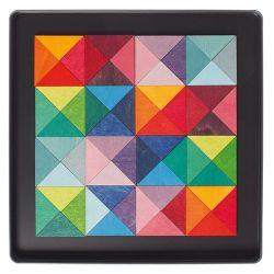 Magneetpuzzel driehoeken, Grimms 91167