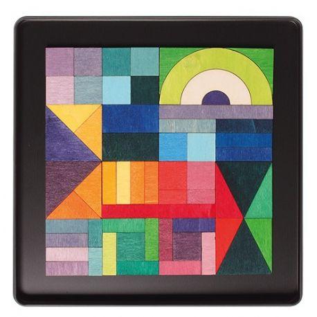 Magneetpuzzel geografisch, Grimms 91168