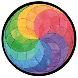 Magneetpuzzel groot kleurenspiraal, Grimms 90500