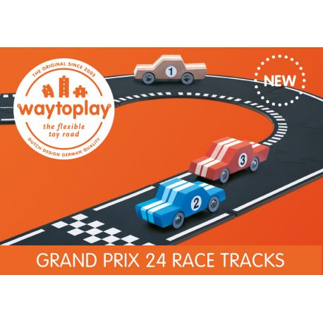 Waytoplay 24-delige racebaan (grand prix)