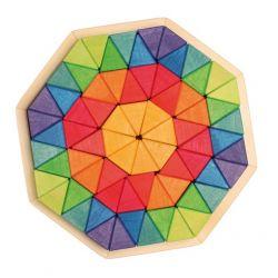 Puzzel octagon groot, Grimms 43280