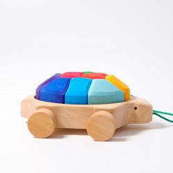 Regenboog schildpad loopfiguur, Grimms 09011