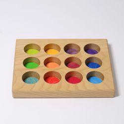 Regenboog sorteerbord, Grimms 10576