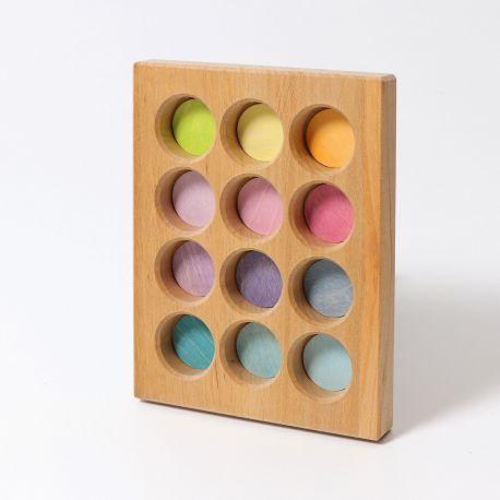 Pastel sorteerbord, Grimms 10577