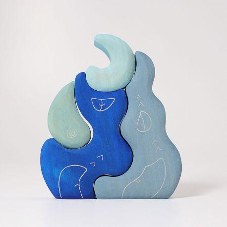 Maanhuis blauw, Grimms 07318