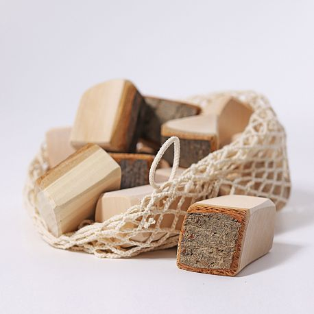 Naturel houten blokken, Grimms 10000