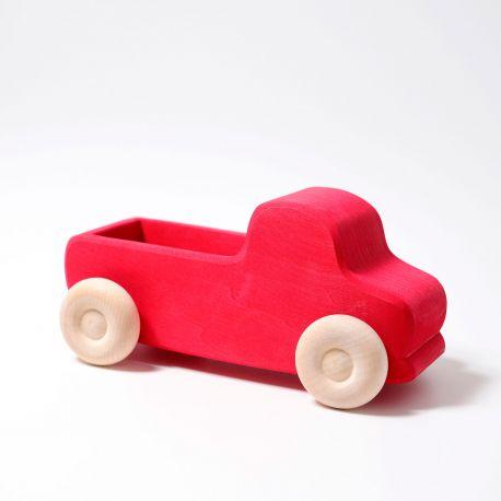 Grote houten rode truck, Grimms 09440
