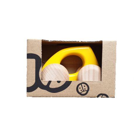 Kleine houten auto Druppel, Bajo 42530