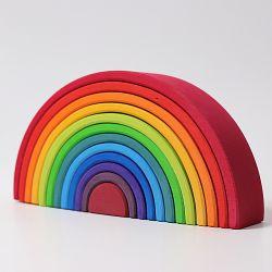 Grote houten regenboog, Grimms 10670
