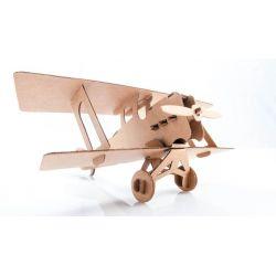 Kartonnen vliegtuig bouwpakket 2, Leolandia L01032