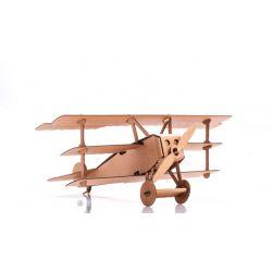 Kartonnen vliegtuig bouwpakket 3, Leolandia L01033. Gaat uit assortiment