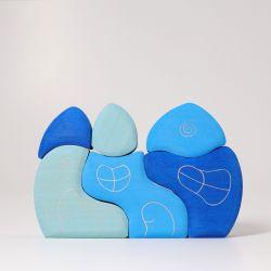 Golven huis blauw, Grimms 07380