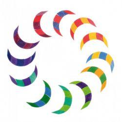 Puzzel kleurenspiraal