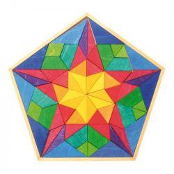 Puzzel Pentagon Vinci, Grimms 43420