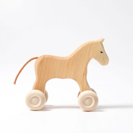 Houten pony Filou, Grimms 13000