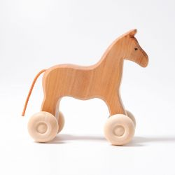 Houten paard Willy, Grimms 13010