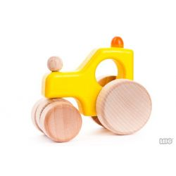 Gele houten stoomwals, Bajo 41610Y