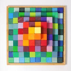 Blokkenpiramide groot, Grimms 42090