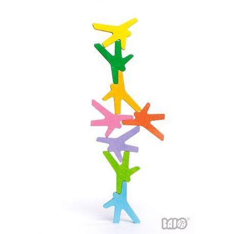 Houten stapel spel acrobaten, Bajo 97530