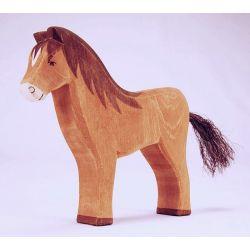 Houten paard bruin, Ostheimer 11112