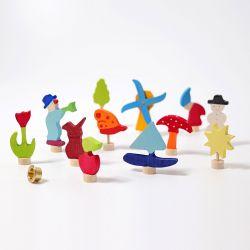 4 Seizoenen decoratieve figuren, Grimms 03050