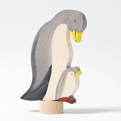 Houten pinguin duo, Grimms 04130
