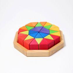 Puzzel octagon, Grimms 43460