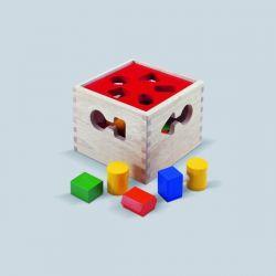 Vormenbox, Blue Ribbon Toys 703405. Gaat uit assortiment