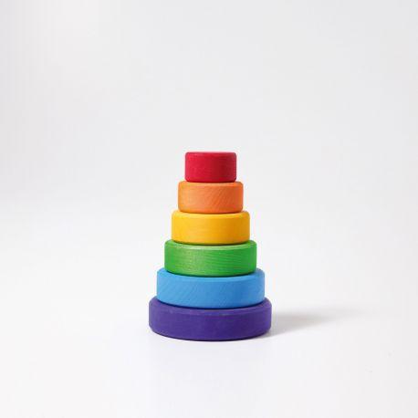 Gekleurde regenboogtoren klein, Grimms 11010