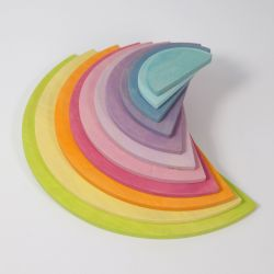 Grote halve pastel cirkels, Grimms 10674