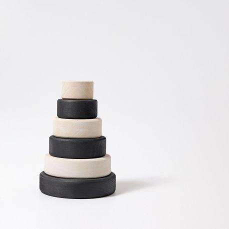 Zwart witte toren klein, Grimms 93080