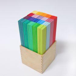 Leonardo sticks kleurrijk, Grimms 40367