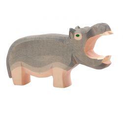 Houten nijlpaard met open mond, Ostheimer 2123