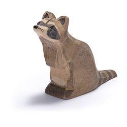 Houten wasbeer (zittend), Ostheimer 16271