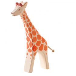 Houten giraffe lopend, Ostheimer 21802