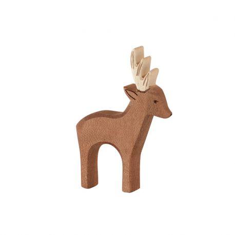 ostheimer 15301 houten handgemaakte hert met gewei