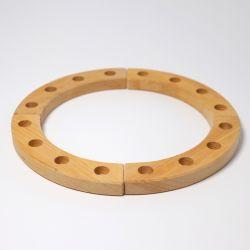 Figurenhouder cirkel naturel (groot), Grimms 02100