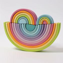 Grimms pastel regenbogen (set van 3)