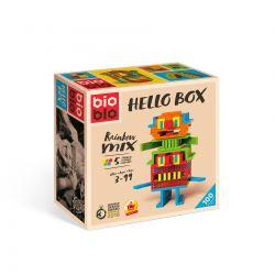 Hello box rainbow mix (100-delig), Bioblo 640255