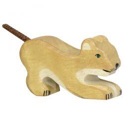 Houten leeuw (klein), Holztiger 80142